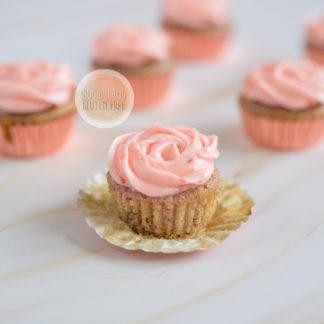 Vegan Strawberries Cupcakes